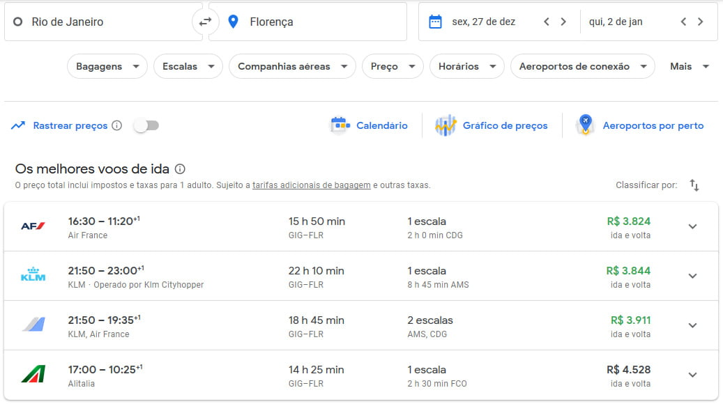 voos reveillon 2020 europa google flights