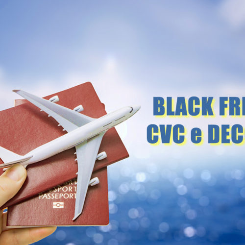 Black Friday de voos CVC e Decolar