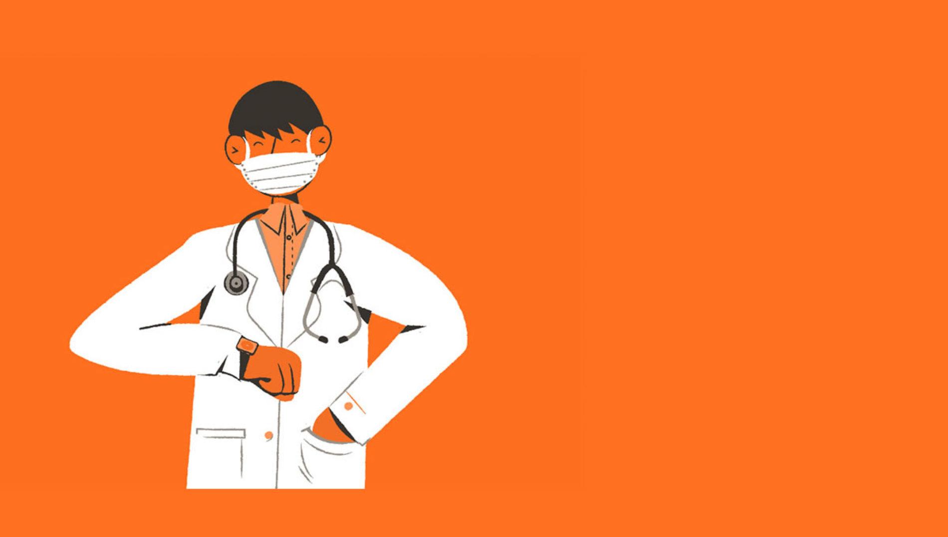Médicos e enfermeiros voam de graça na GOL