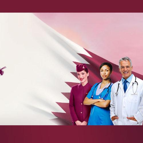 Férias de graça! Profissionais da saúde ganham voos da Qatar Airways
